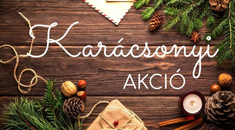 Karácsonyi AKCIÓINK!